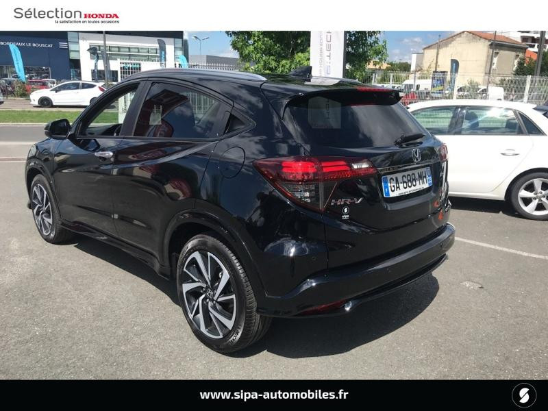 Honda HR-V 1.5 i-VTEC 130ch Exclusive CVT Noir occasion à Le Bouscat - photo n°18
