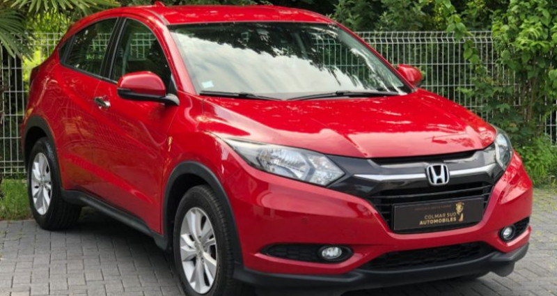 Honda HR-V 1.6 I-DTEC 120CH EXECUTIVE NAVI Rouge occasion à COLMAR - photo n°4