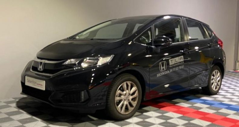 Honda Jazz 1.3 i-VTEC 102ch Executive Navi CVT Noir occasion à Saint Etienne