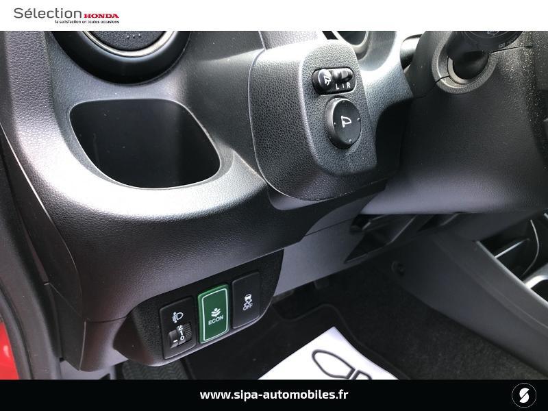 Honda Jazz 1.3 i-VTEC 88 Hybrid Luxury Rouge occasion à Le Bouscat - photo n°16
