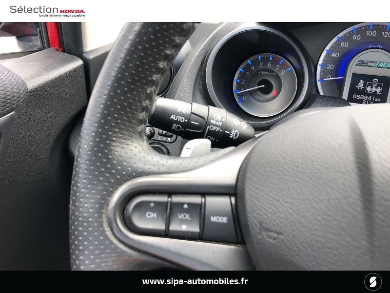 Honda Jazz 1.3 i-VTEC 88 Hybrid Luxury Rouge occasion à Le Bouscat - photo n°19