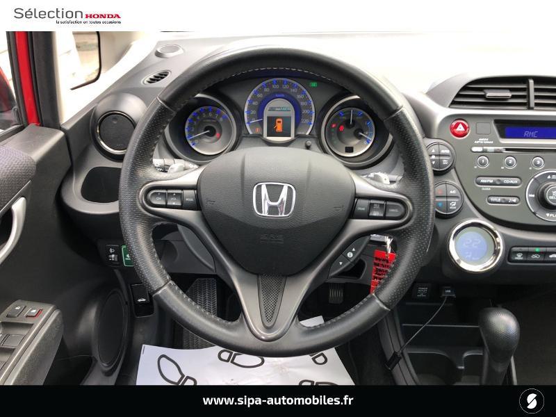 Honda Jazz 1.3 i-VTEC 88 Hybrid Luxury Rouge occasion à Le Bouscat - photo n°6