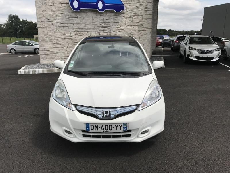 Honda Jazz 1.3 I-VTEC 88 HYBRID LUXURY Blanc occasion à Serres-Castet - photo n°9