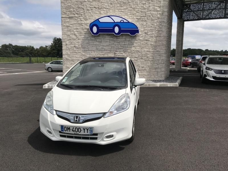 Honda Jazz 1.3 I-VTEC 88 HYBRID LUXURY Blanc occasion à Serres-Castet