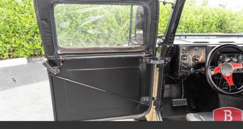 Hummer H1 6.2l diesel 1985vprix tout compris Noir occasion à Paris - photo n°7