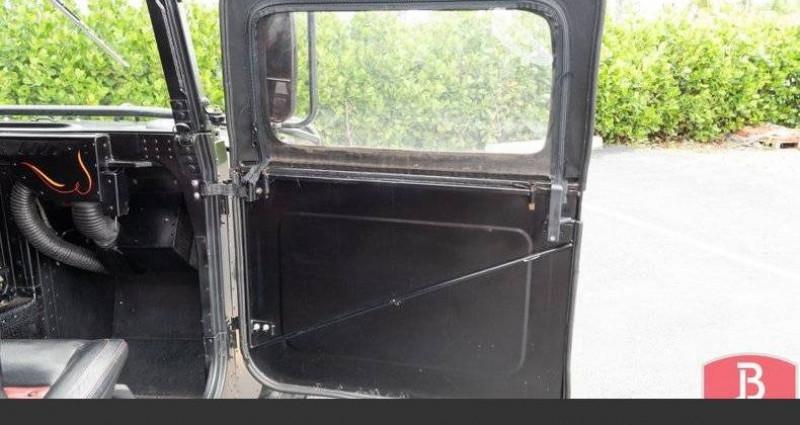 Hummer H1 6.2l diesel 1985vprix tout compris Noir occasion à Paris - photo n°6