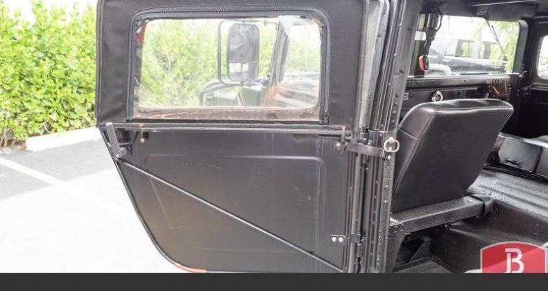 Hummer H1 6.2l diesel 1985vprix tout compris Noir occasion à Paris - photo n°5