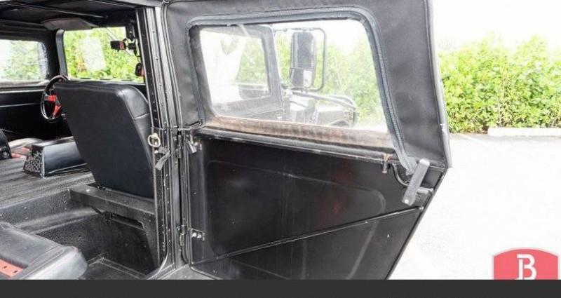 Hummer H1 6.2l diesel 1985vprix tout compris Noir occasion à Paris - photo n°4