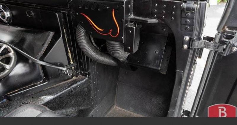 Hummer H1 6.2l diesel 1985vprix tout compris Noir occasion à Paris - photo n°3