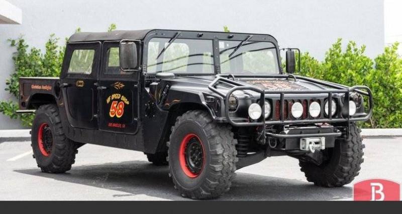Hummer H1 6.2l diesel 1985vprix tout compris Noir occasion à Paris