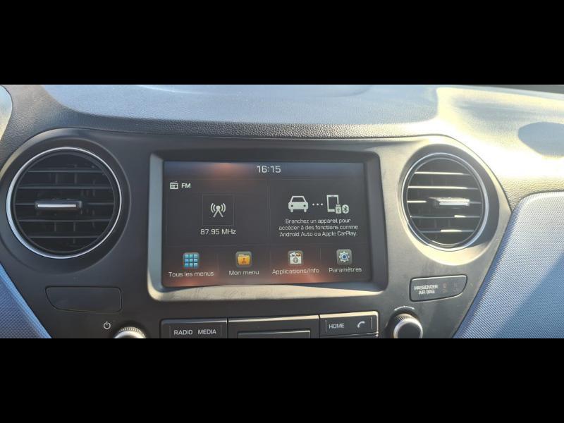 Hyundai i10 1.0 66ch Intuitive Euro6d-Temp Noir occasion à Corbeil-Essonnes - photo n°10