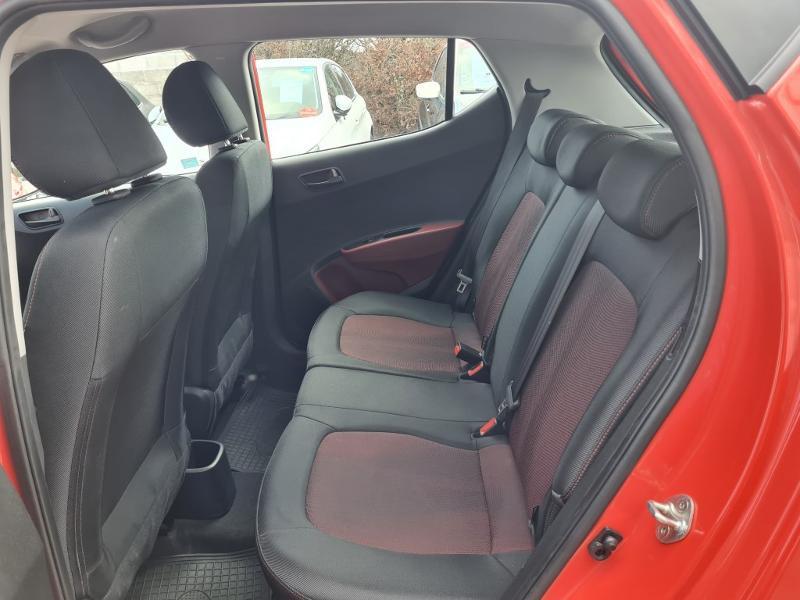 Hyundai i10 1.0 66ch Intuitive Rouge occasion à Auxerre - photo n°13