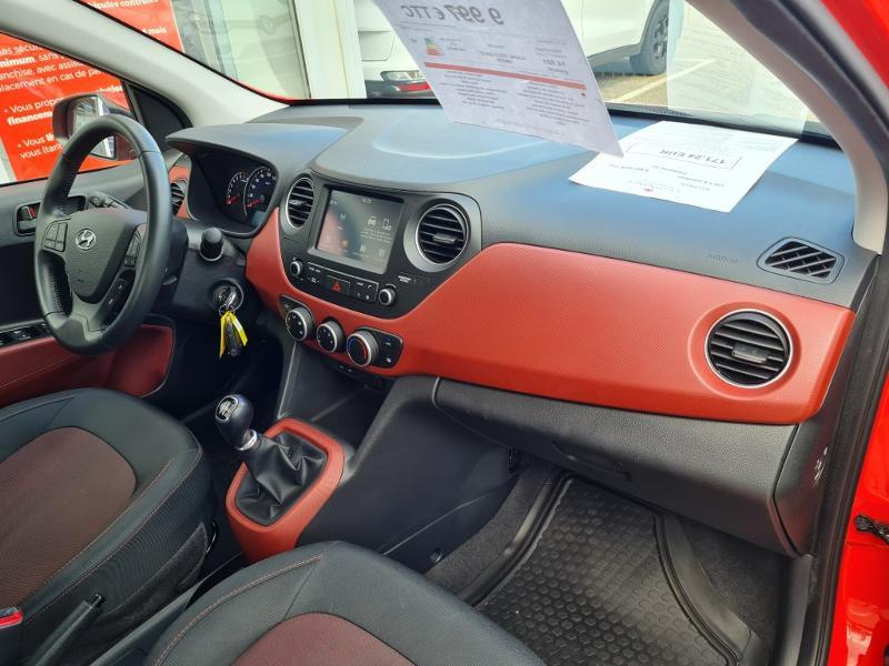 Hyundai i10 1.0 66ch Intuitive Rouge occasion à Auxerre - photo n°5