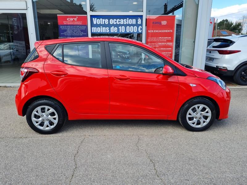 Hyundai i10 1.0 66ch Intuitive Rouge occasion à Auxerre - photo n°10