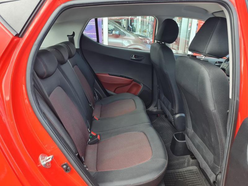 Hyundai i10 1.0 66ch Intuitive Rouge occasion à Auxerre - photo n°7