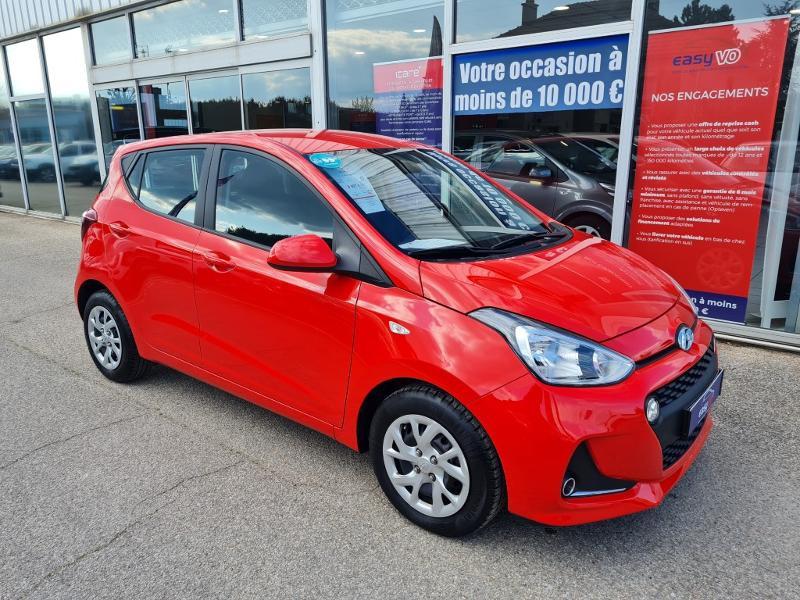 Hyundai i10 1.0 66ch Intuitive Rouge occasion à Auxerre