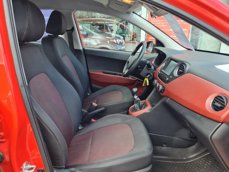 Hyundai i10 1.0 66ch Intuitive Rouge occasion à Auxerre - photo n°6