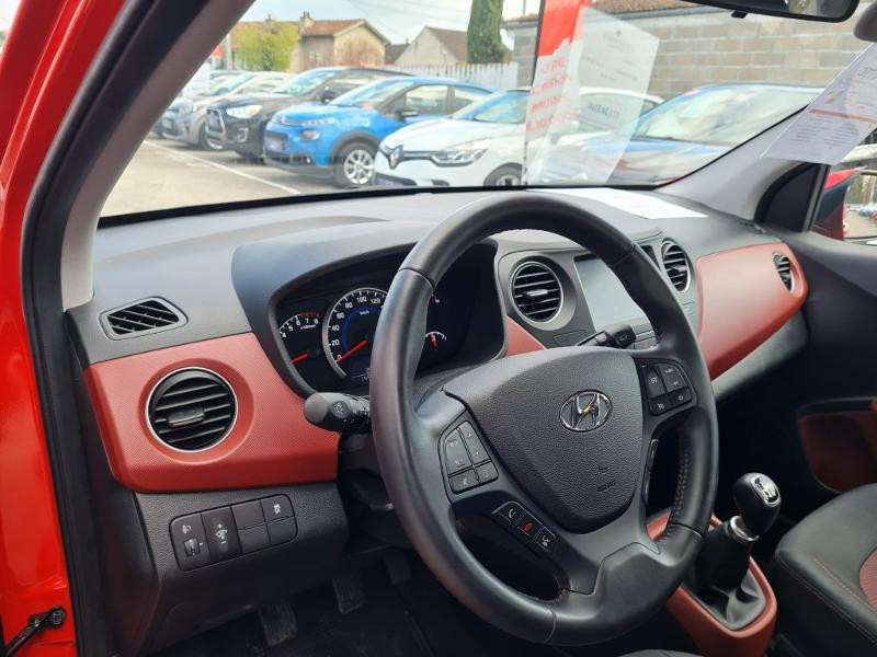 Hyundai i10 1.0 66ch Intuitive Rouge occasion à Auxerre - photo n°11