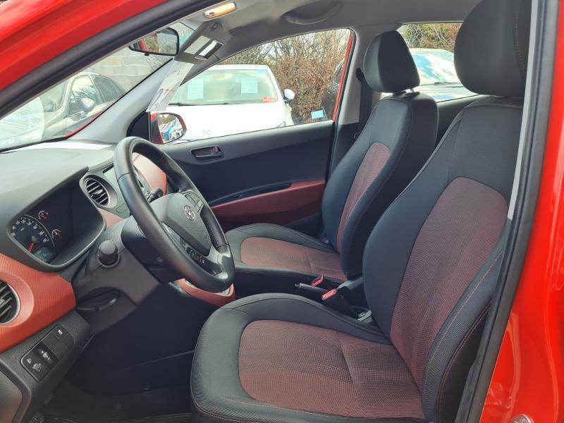 Hyundai i10 1.0 66ch Intuitive Rouge occasion à Auxerre - photo n°12