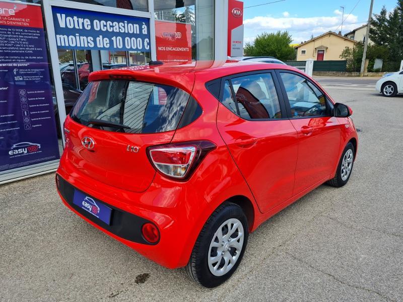 Hyundai i10 1.0 66ch Intuitive Rouge occasion à Auxerre - photo n°9