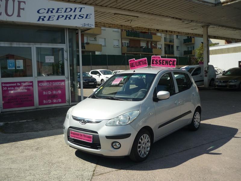 Hyundai i10 occasion 2008 mise en vente à Toulouse par le garage GROUPEMENT DE L'OCCASION - photo n°1