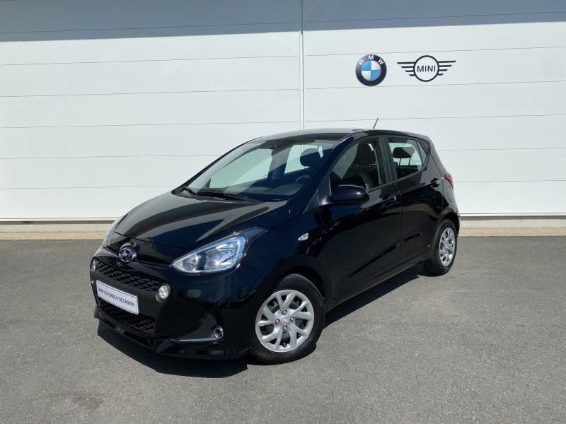 Hyundai i10 1.2 87 BVM5 Intuitive Noir occasion à Brive-la-Gaillarde