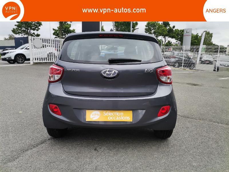 Hyundai i10 1.2 87ch Intuitive Gris occasion à Angers - photo n°8