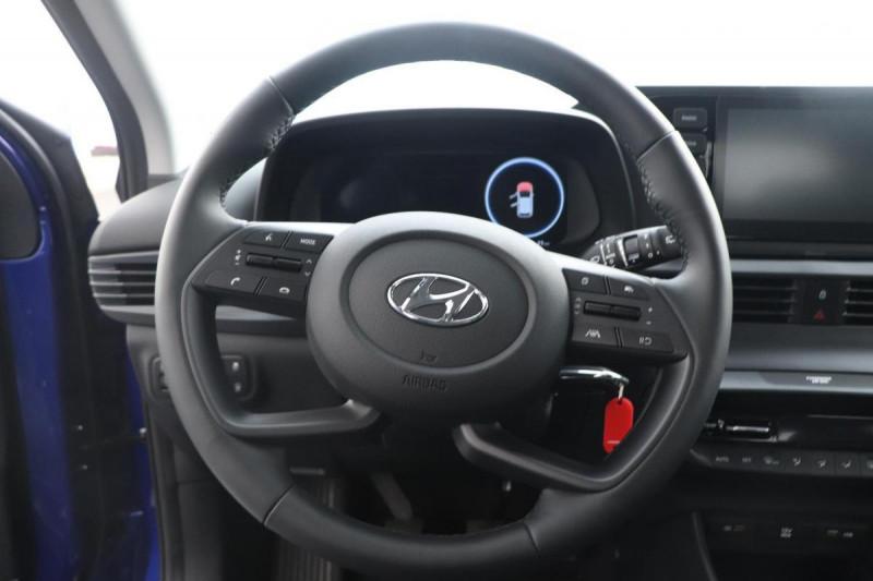 Hyundai i20 1.0 T-GDi 100 Intuitive Bleu occasion à Tourville-la-Rivière - photo n°10