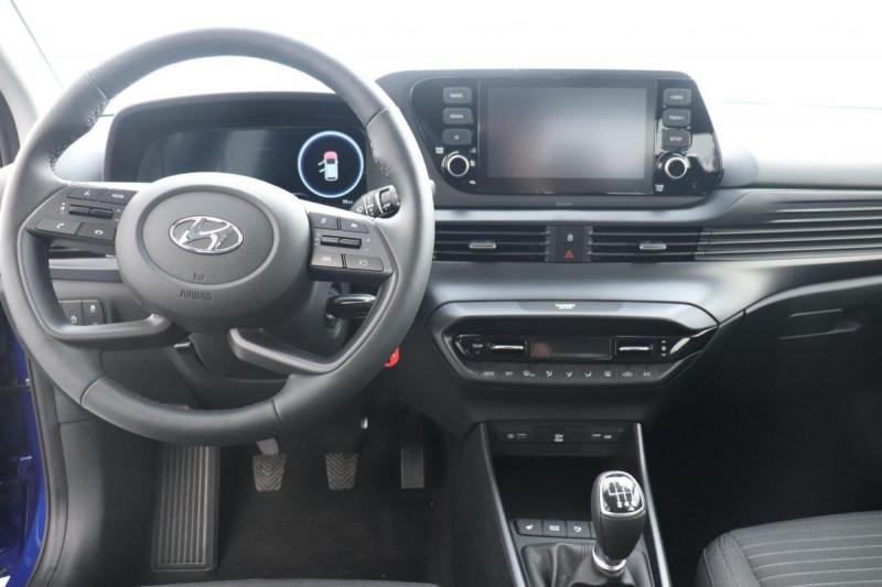 Hyundai i20 1.0 T-GDi 100 Intuitive Bleu occasion à Tourville-la-Rivière - photo n°4