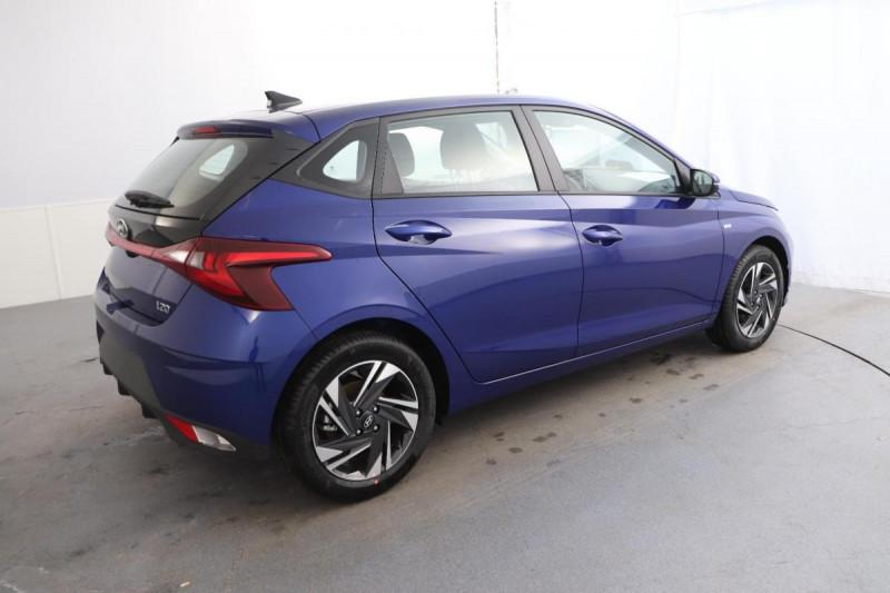 Hyundai i20 1.0 T-GDi 100 Intuitive Bleu occasion à Tourville-la-Rivière - photo n°3