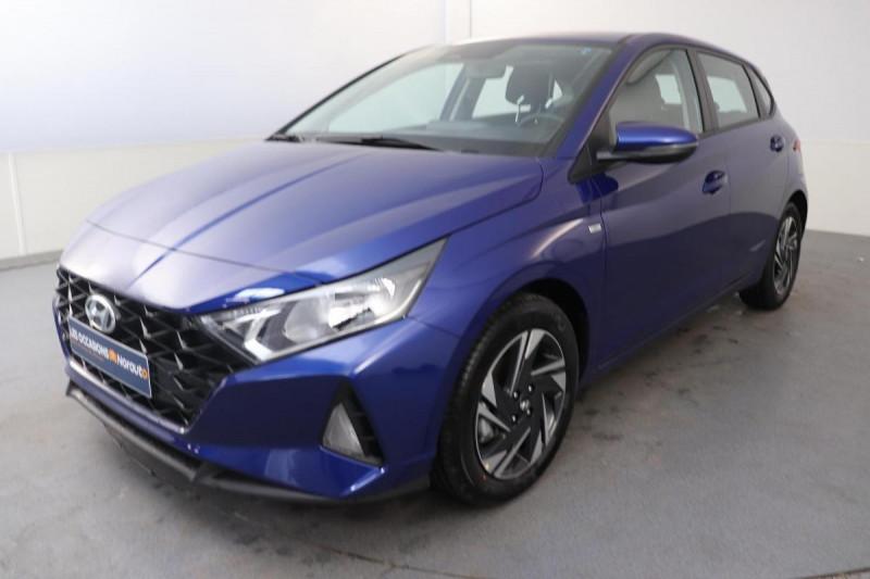 Hyundai i20 1.0 T-GDi 100 Intuitive Bleu occasion à Tourville-la-Rivière