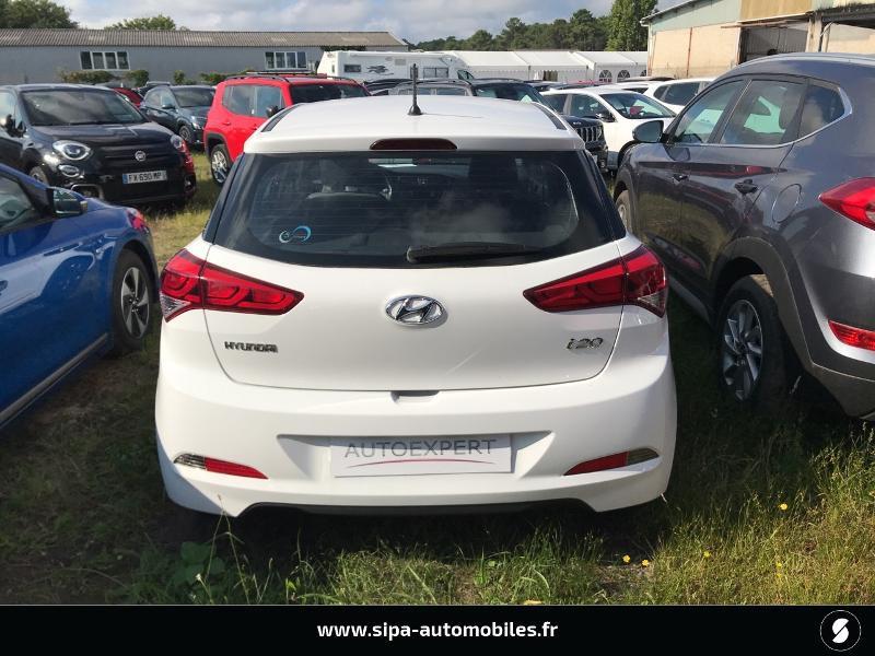 Hyundai i20 1.2 75 Edition #Clim Blanc occasion à La Teste-de-Buch - photo n°9