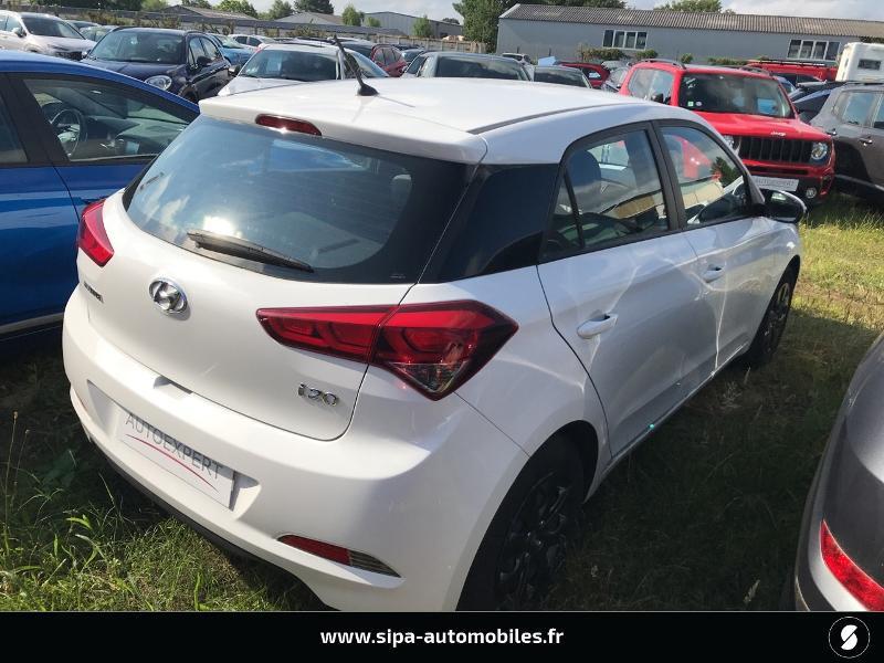 Hyundai i20 1.2 75 Edition #Clim Blanc occasion à La Teste-de-Buch - photo n°2