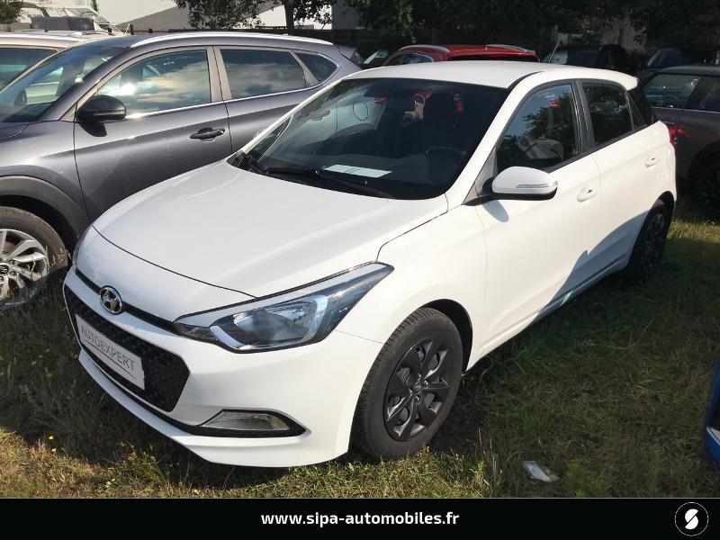 Hyundai i20 1.2 75 Edition #Clim Blanc occasion à La Teste-de-Buch