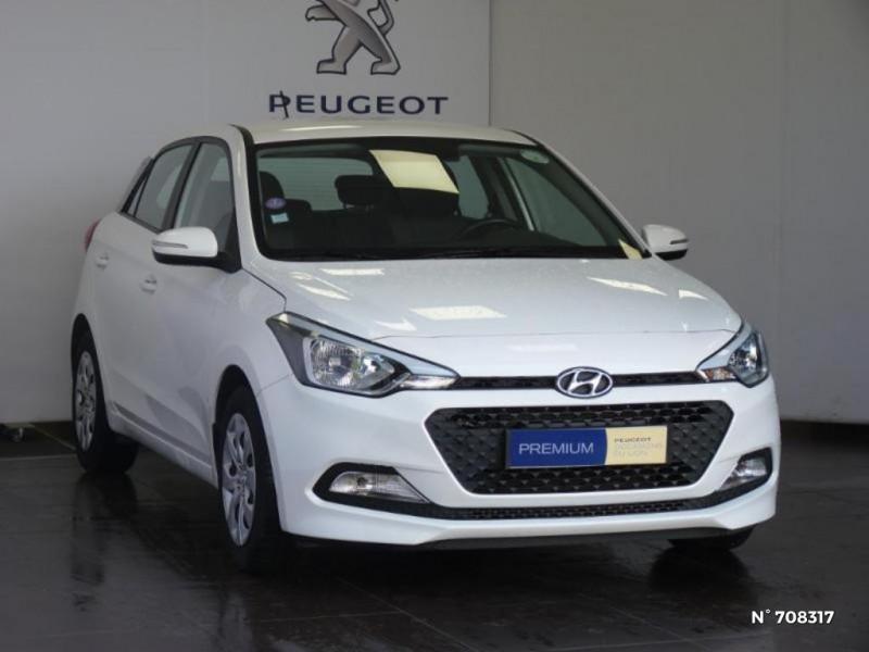 Hyundai i20 1.2 75 Edition #Clim Gris occasion à Villeparisis - photo n°2