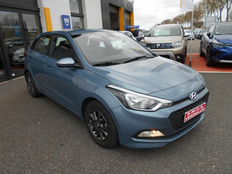 Hyundai i20 1.2 75 Initia Bleu occasion à Bessières - photo n°4