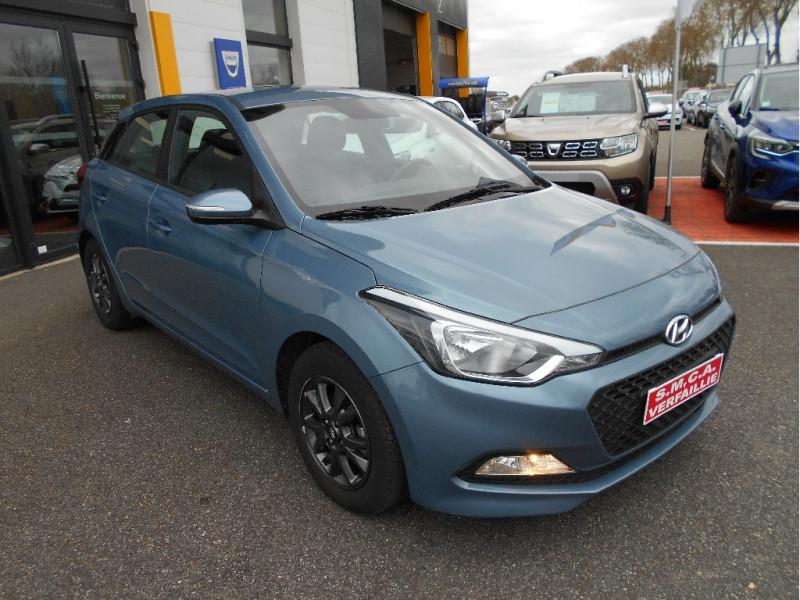 Hyundai i20 1.2 75 Initia Bleu occasion à Bessières - photo n°1
