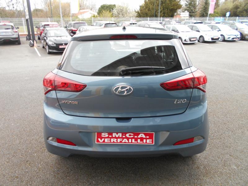 Hyundai i20 1.2 75 Initia Bleu occasion à Bessières - photo n°8
