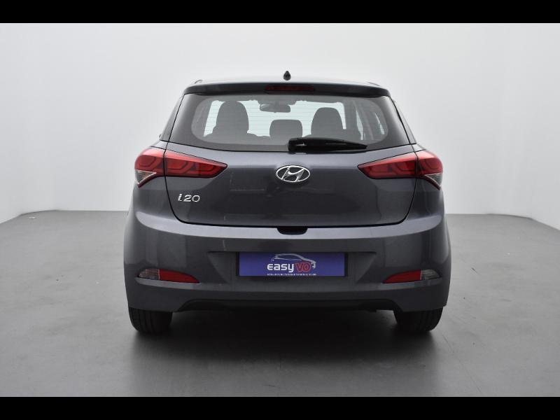 Hyundai i20 1.2 75ch Initia Gris occasion à Jaux - photo n°2