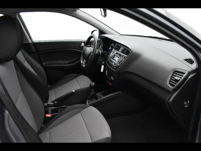 Hyundai i20 1.2 75ch Initia Gris occasion à Jaux - photo n°10