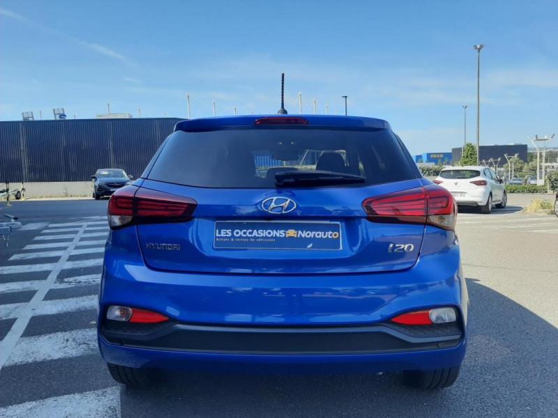 Hyundai i20 1.2 84 Intuitive Bleu occasion à Tourville-la-Rivière - photo n°3