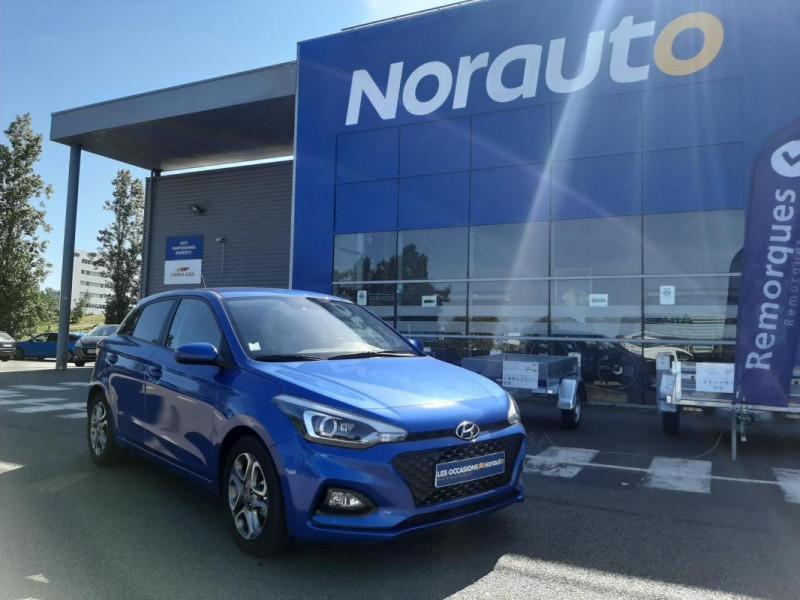 Hyundai i20 1.2 84 Intuitive Bleu occasion à Tourville-la-Rivière