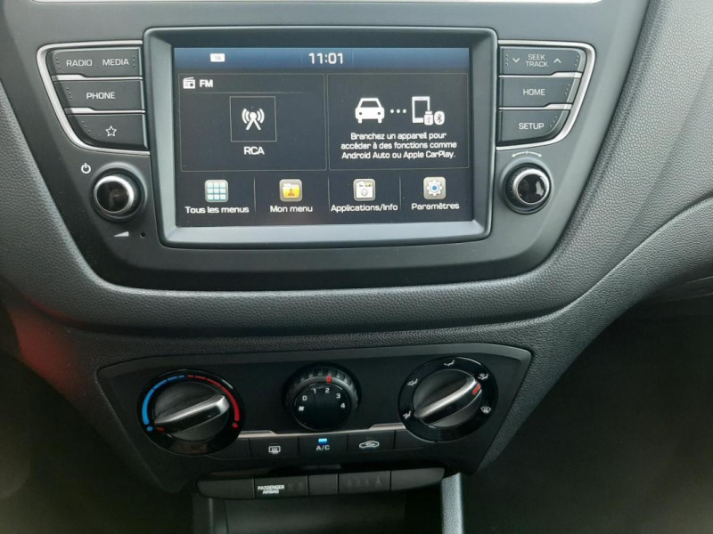 Hyundai i20 1.2 84 Intuitive Bleu occasion à Tourville-la-Rivière - photo n°11