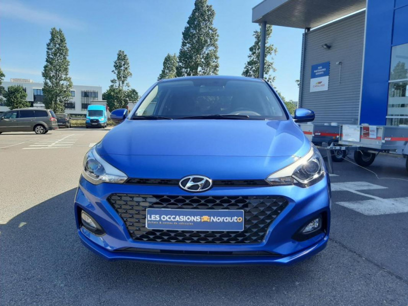 Hyundai i20 1.2 84 Intuitive Bleu occasion à Tourville-la-Rivière - photo n°2