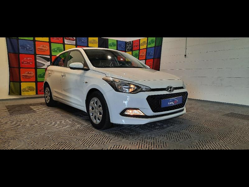 Hyundai i20 1.2 84 Intuitive Blanc occasion à Dijon