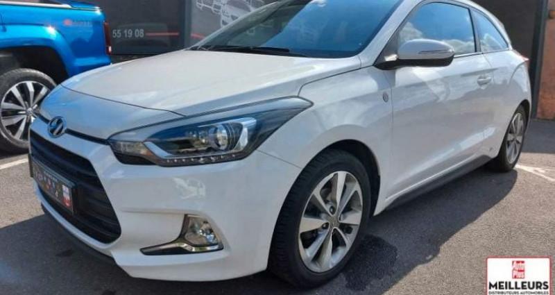 Hyundai i20 1.2 csv 84 ea sport Blanc occasion à Bruay La Buissière