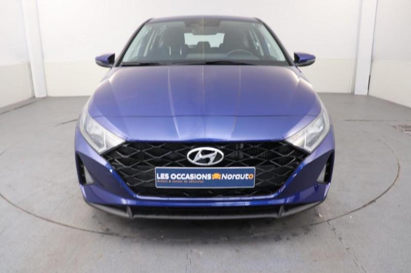 Hyundai i20 T-GDI MILD HYBRID 48V ESSENTIAL ECL Bleu occasion à Saint-Grégoire - photo n°2