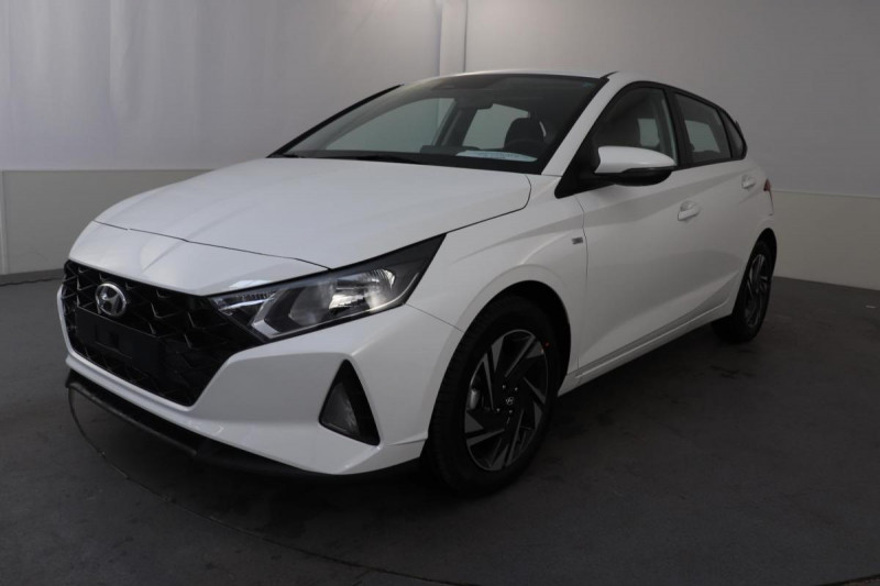 Hyundai i20 T-GDI MILD HYBRID 48V ESSENTIAL ECL Blanc occasion à Saint-Grégoire