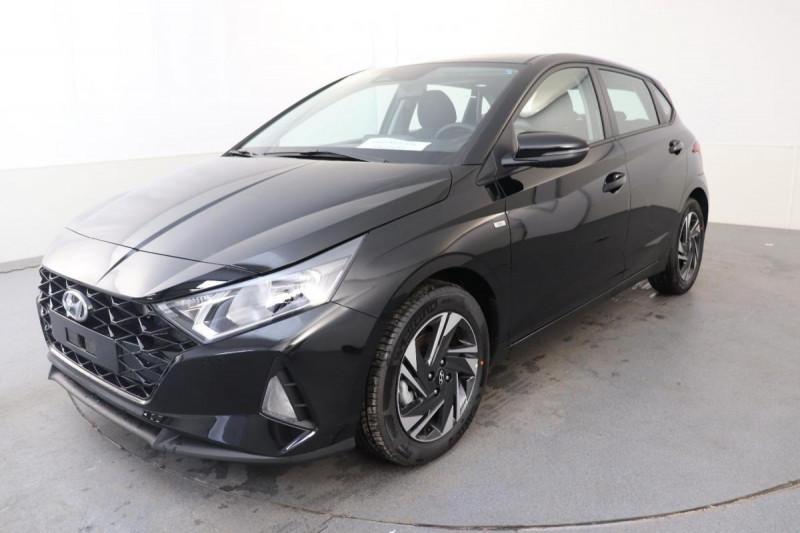Hyundai i20 T-GDI MILD HYBRID 48V ESSENTIAL ECL Noir occasion à Semécourt