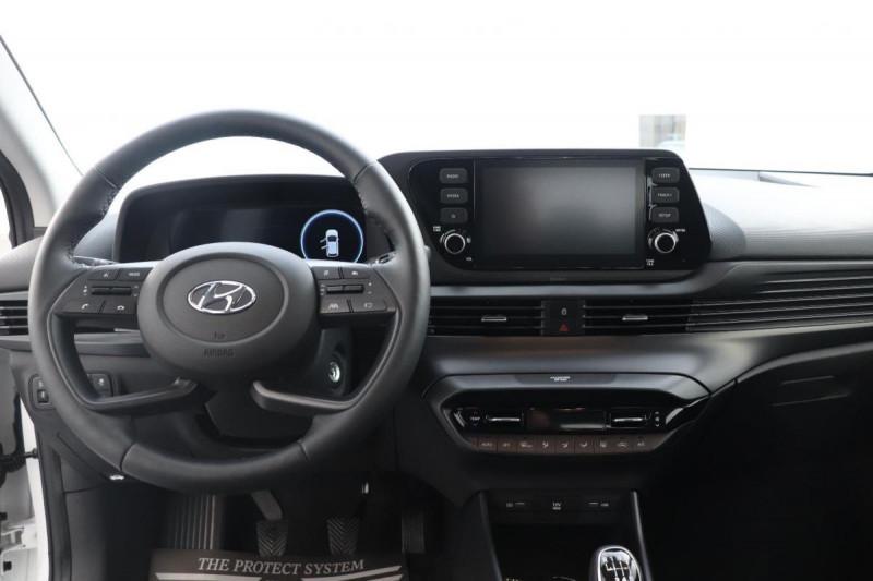 Hyundai i20 T-GDI MILD HYBRID 48V ESSENTIAL ECL Blanc occasion à Saint-Grégoire - photo n°4